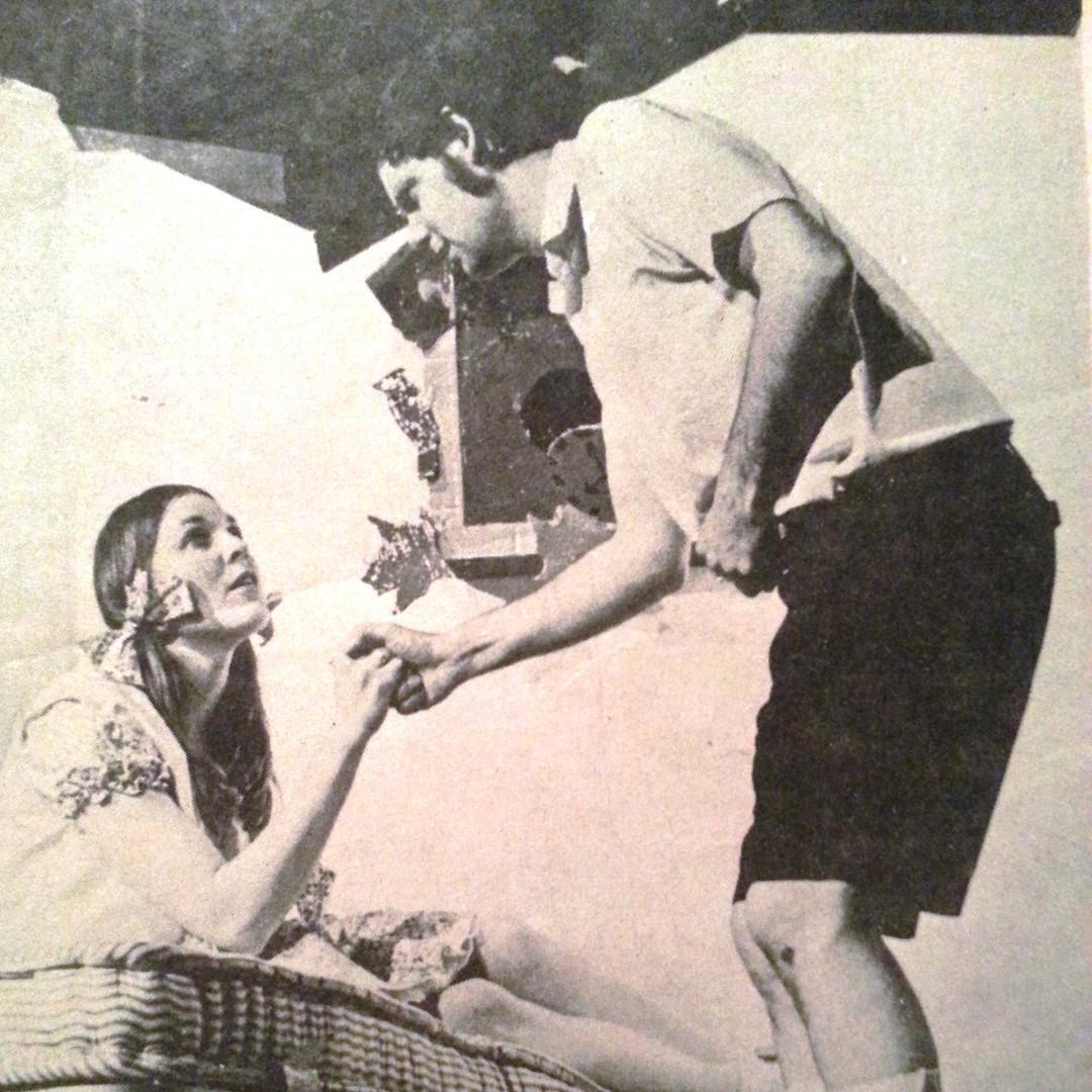 Faith Hanson and Phil Foster