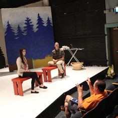 Bob, Eve & Colby rehearse