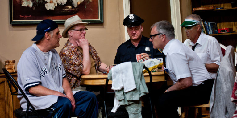 The Odd Couple - Rehearsals
