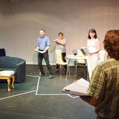 rehearsal : Candice, Jeff, Marnee, Kimberly and Trevor