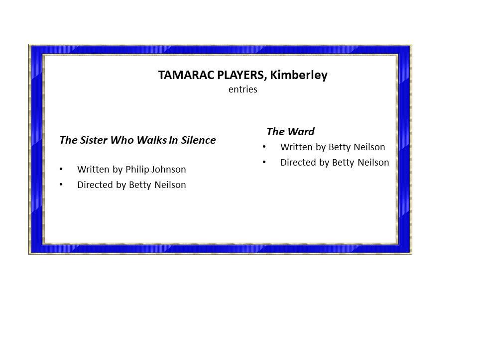 Tamarac Players x 2