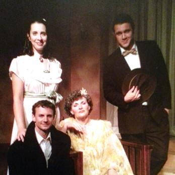 Cast tableau - Jeff, Marge, Jennifer and Bryan