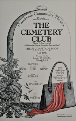 2005 Cemetery Club poster
