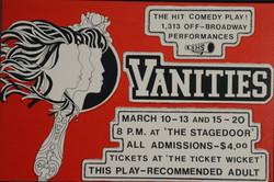 1982 Vanities poster