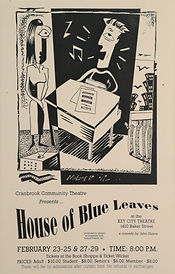 1992 House of Blue Leaves poster.JPG
