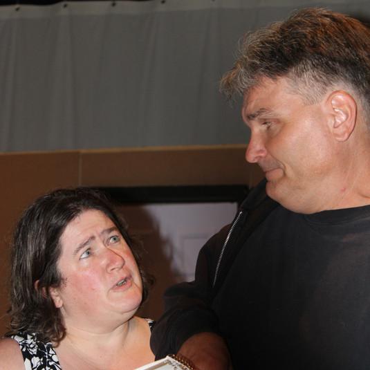 Erin with Ferdy