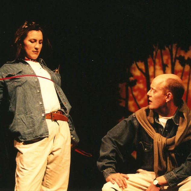 Melanie & Bob in SYLVIA