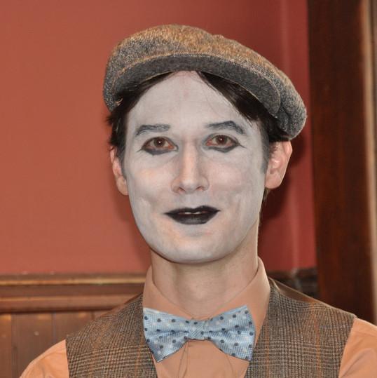 Jerrod, a mime