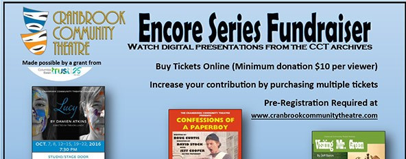 CCT Presents Encore Series