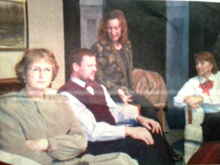 Lorna, Peter, Glady & Elizabeth