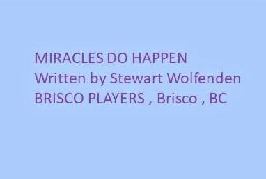 Brisco Players entry