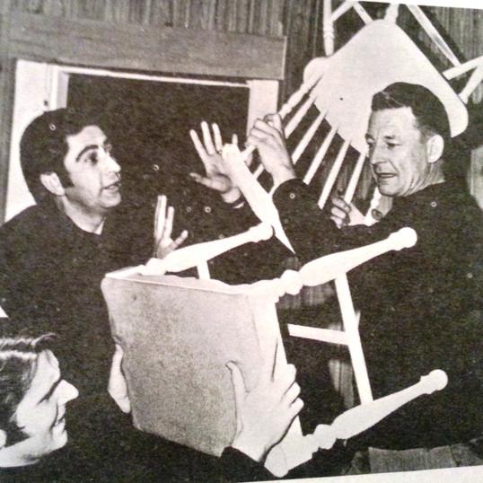 Ian, Cornel and Bud