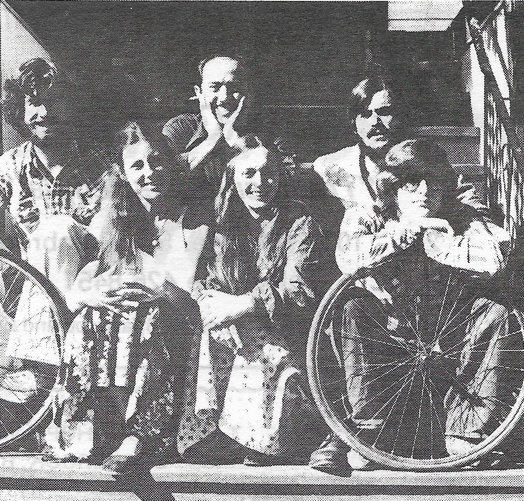 Front row: Genevra, Marlene & Jerry.  Back row: David, Gary & Barry