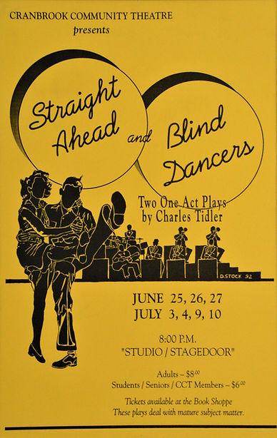 1992 ish Straight Ahead & Blind Dancers