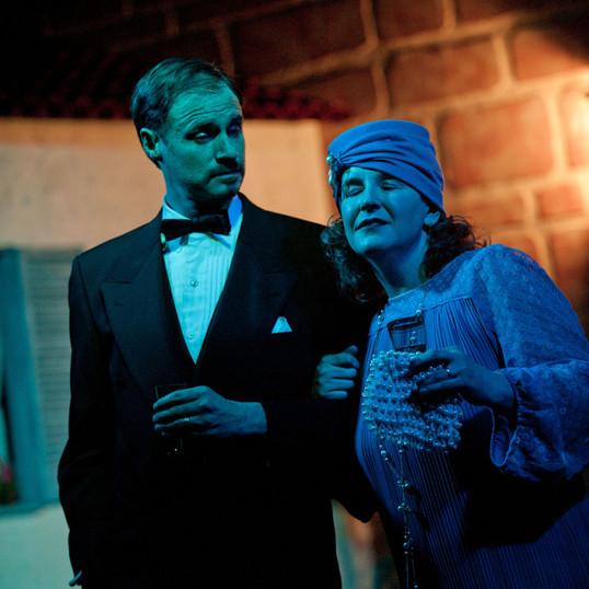 Sean as Mellersh & Tracy as Lotte