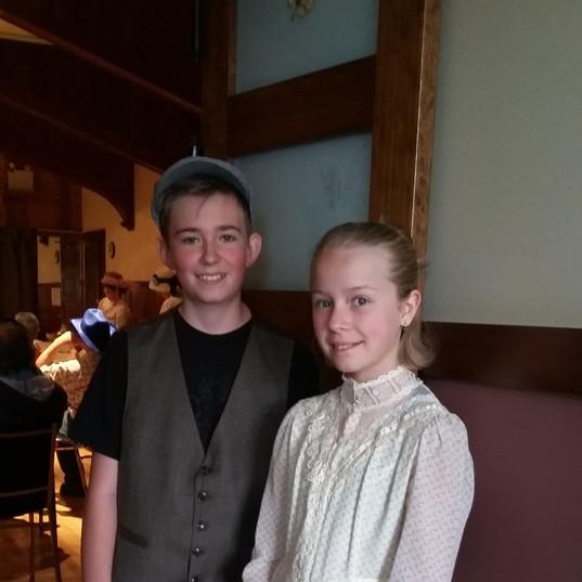 Kieran & Anabel, a volunteer