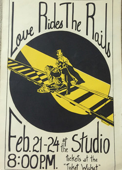 Love Rides the Rails Poster 1977