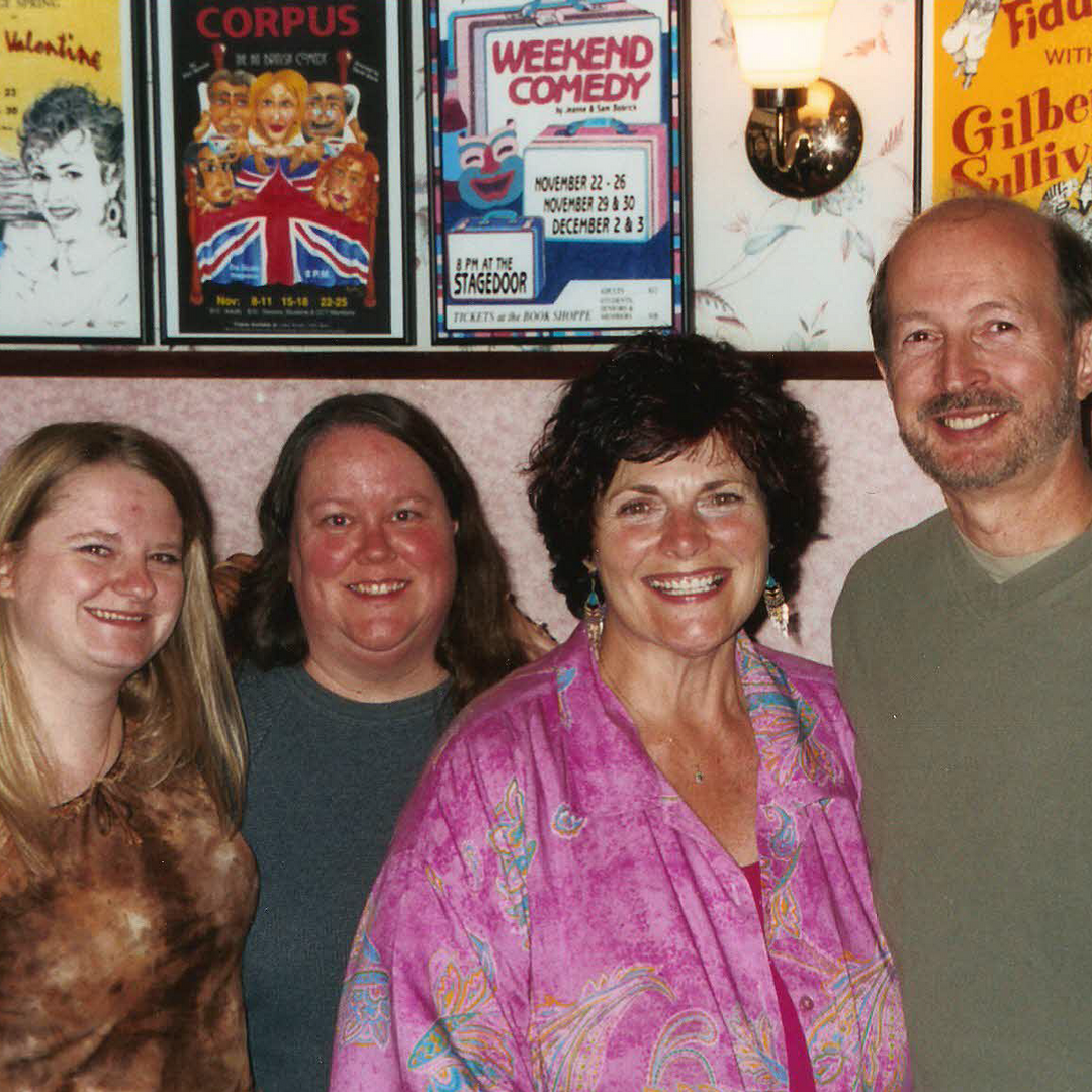 Nikole, Harriet, Marge & David