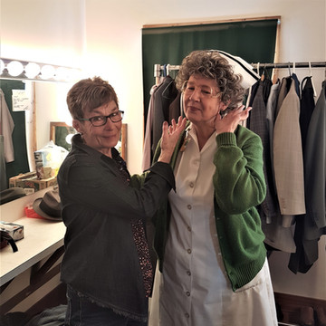 Costuming- Sandy and Melodie