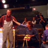 Rehearsal - Bob, Brenda, cast & crew