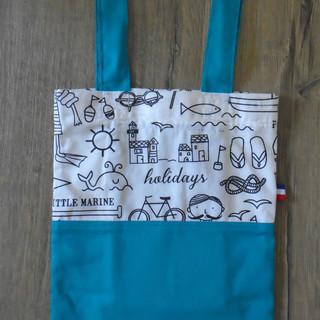 Tote bag little marine 21,5x30,5cm