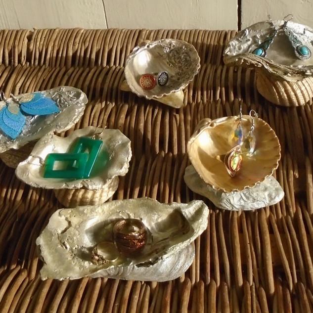 Portes-bijoux coquillages