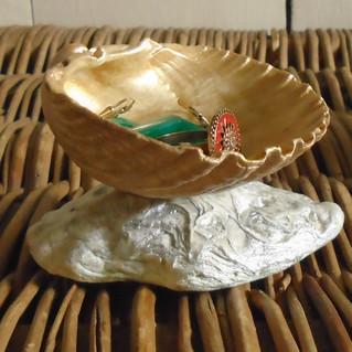 Porte bijoux en coquillages