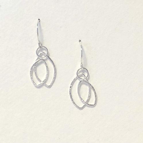 Double-Leaf Earrings