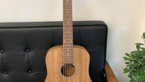 お子様の練習にぴったりのギターを設置いたしました!