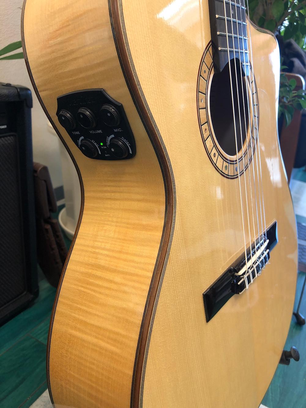 トランスアコースティックギター