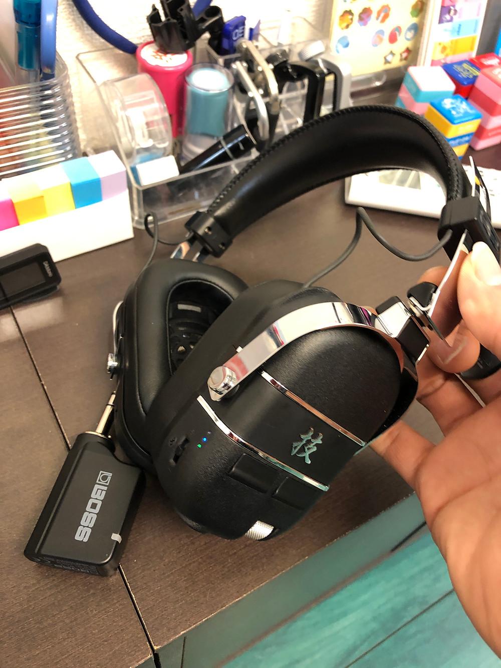 BOSS ボス/技 WAZA-AIR ワイヤレス・ギター・ヘッドホン・システム Bluetoothアンプ