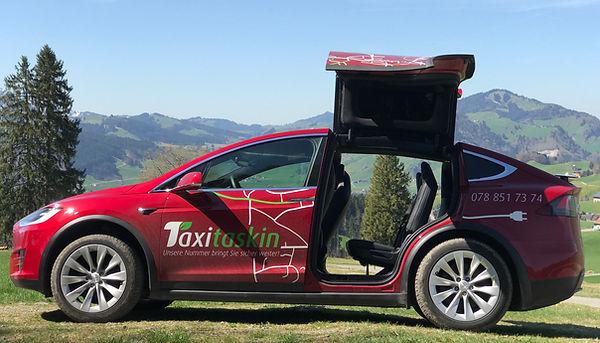 Taxi Taskin - Tesla Model X