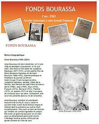 Fonds Bourassa descriptif
