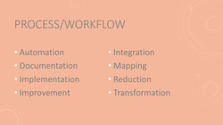 Process Workflow