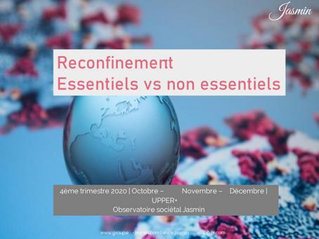 Reconfinement : Essentiels vs non essentiels
