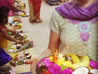 Making Offerings at the Temple: How Hindu Worship Informs my Yoga Practice