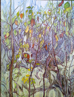 A.Wiegerinck-Red Leaves, Mt