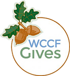 The WCCF Gives Logo