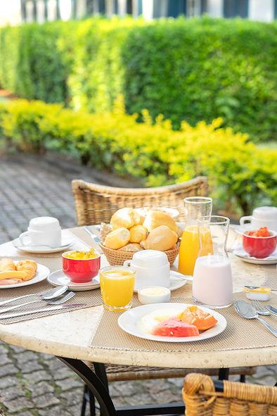 cafe da manha, Hotel Fazenda Dona Caroli