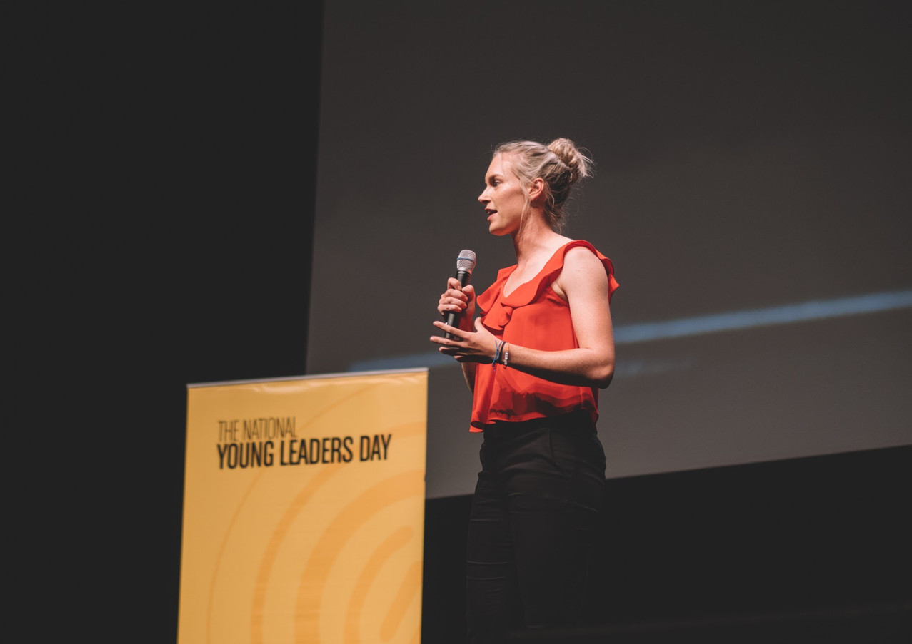 Guest Speaker For The Australian Young Leaders Day