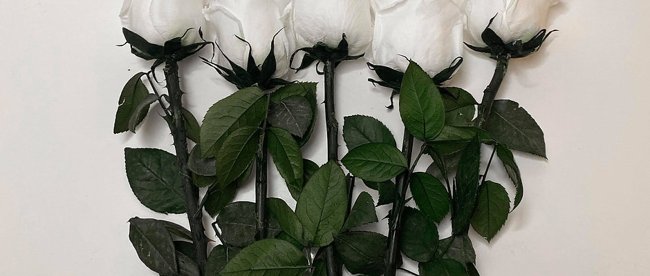 INFINITY BOUQUET - pure white