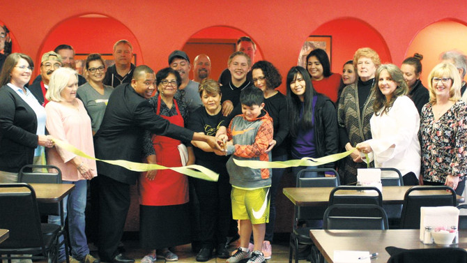 Gore Chamber of Commerce Welcomes Cazadores Mexican Restaurant
