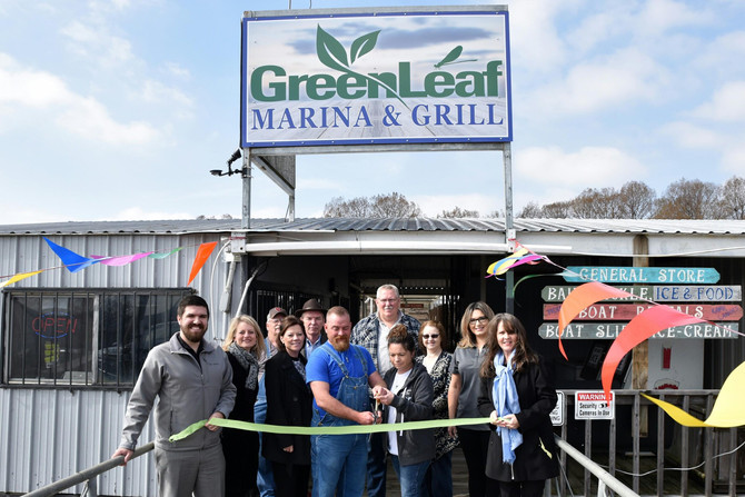 Gore Chamber of Commerce Welcomes Greenleaf Marina & Grill