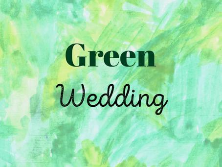 Vegan Heiraten / Green Wedding