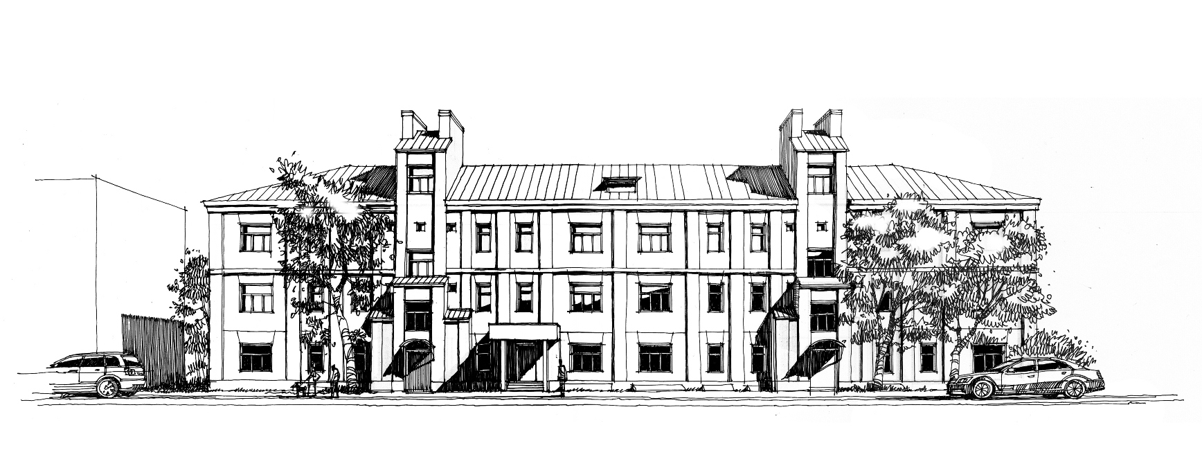 Жилой дом на Сыромятнической