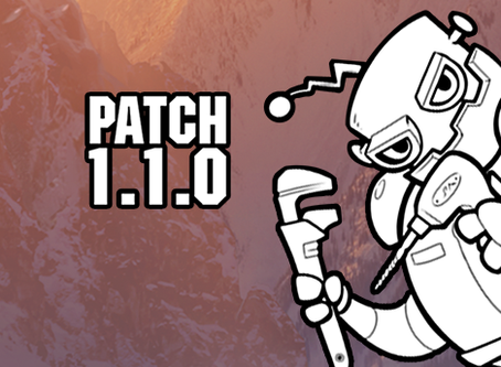 Patch 1.1.0 Now Live