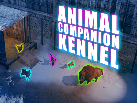 Patch 1.4.0 Feature Preview: Animal Companion Kennel