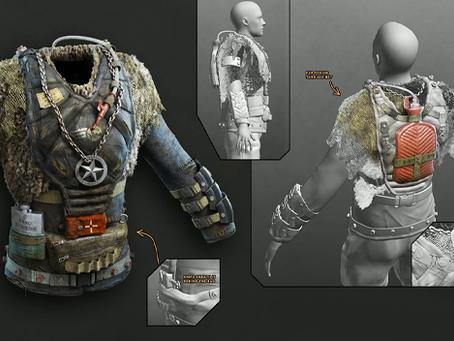 The Wasteland 3 Concept Art of Dimitri Zaitsev