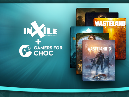 Gamers for CHOC inXile Sweepstakes