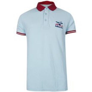 Polo T Shirt (Red and blue)